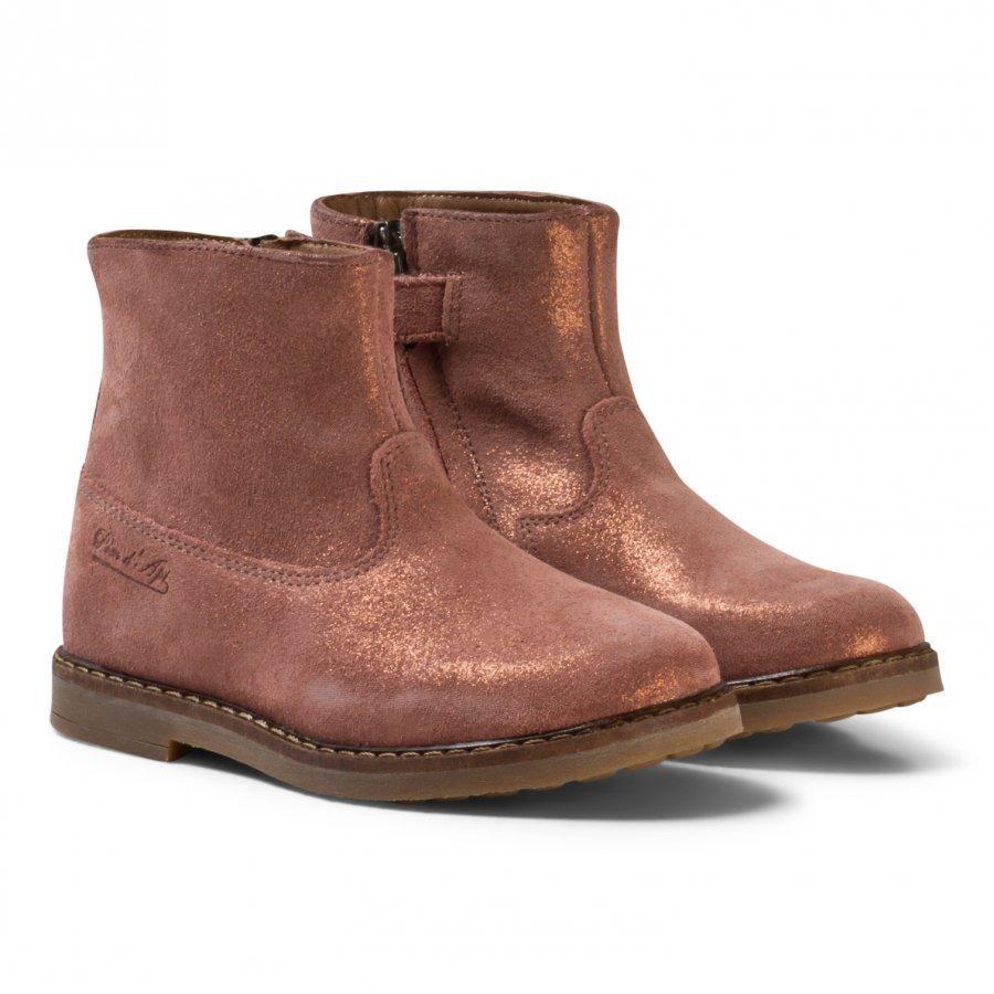 Pom Dapi Trip Boots Old Rose Nilkkurit