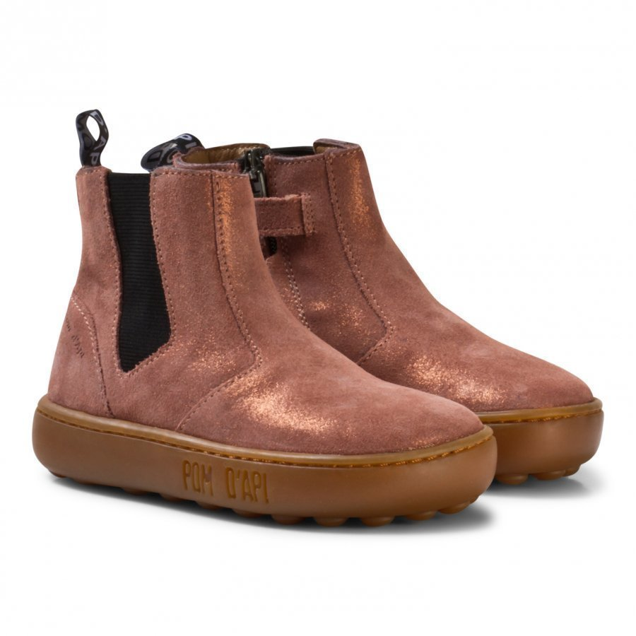 Pom Dapi Walk Jodpur Basic Boots Old Rose Talvisaappaat