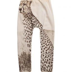 Popupshop Baggy Leggings Cheetah/Off White