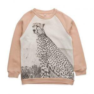Popupshop Basic Sweat Cheetah