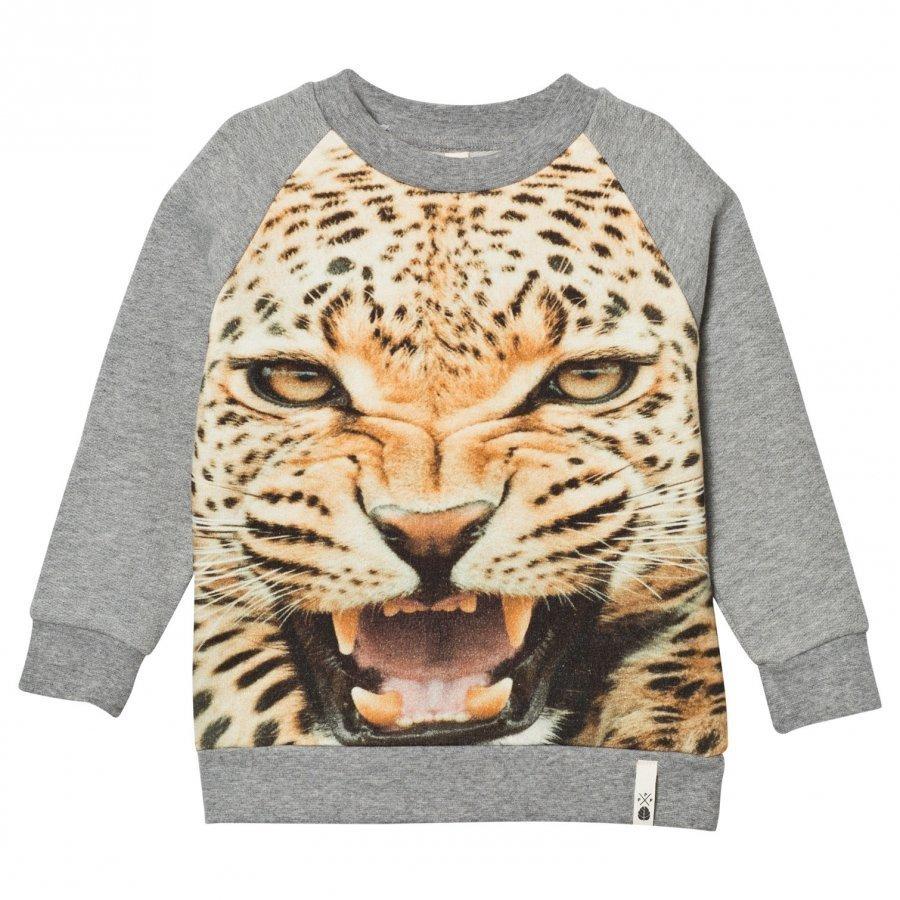 Popupshop Basic Sweat Leopard Oloasun Paita