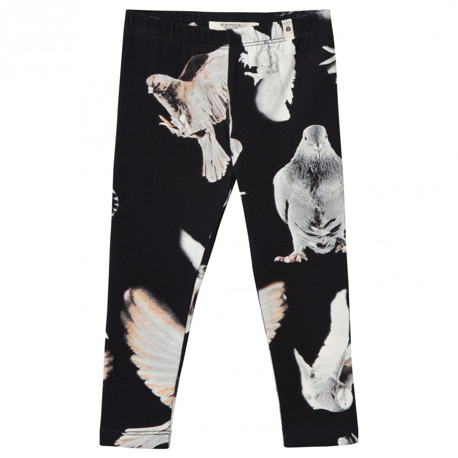 Popupshop Black Birds Leggings Legginsit