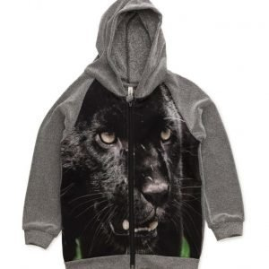 Popupshop Hoodie With Zipper Panther