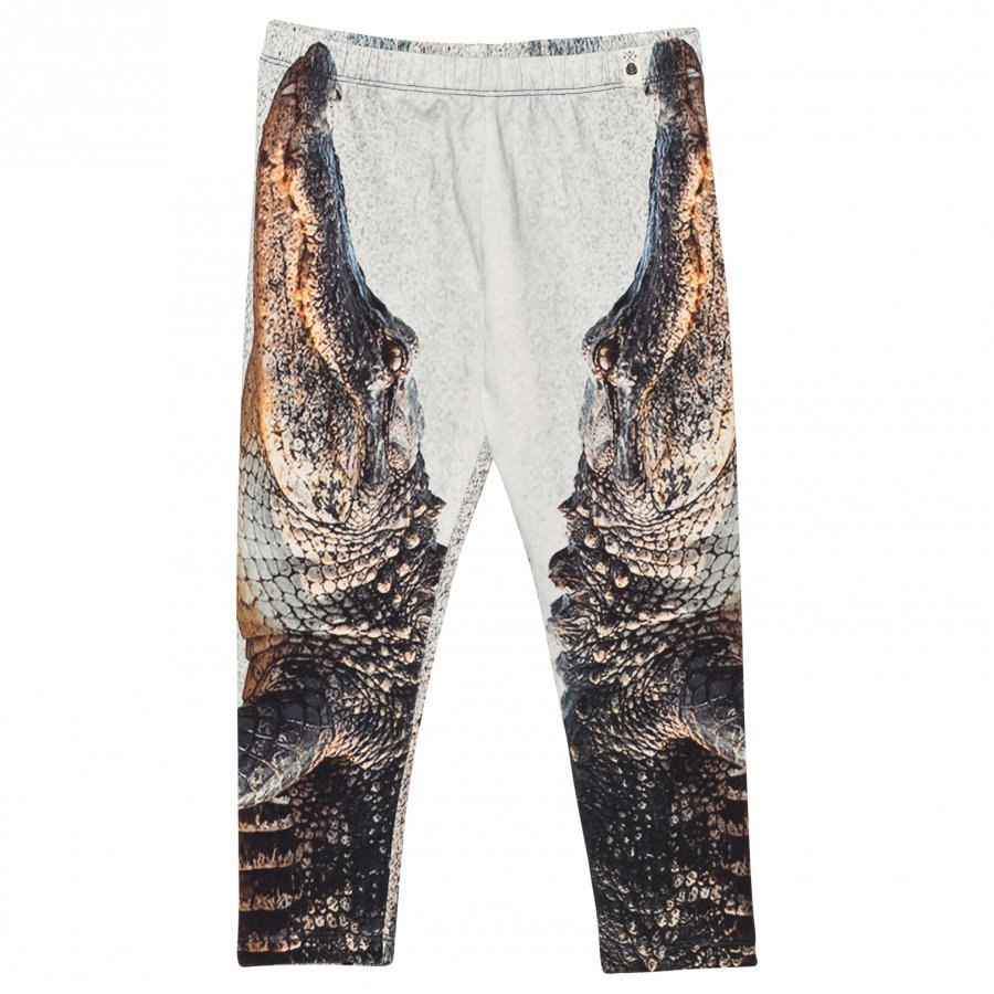 Popupshop Jersey Pants Crocodile Housut