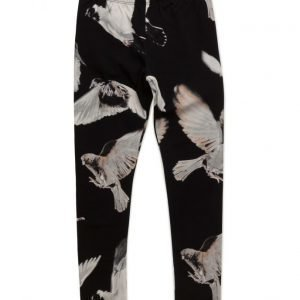 Popupshop Leggings Black Birds