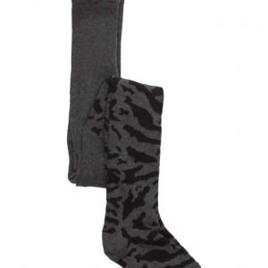 Popupshop Stockings Zebra Black / Grey