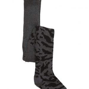 Popupshop Stockings Zebra Black / Grey