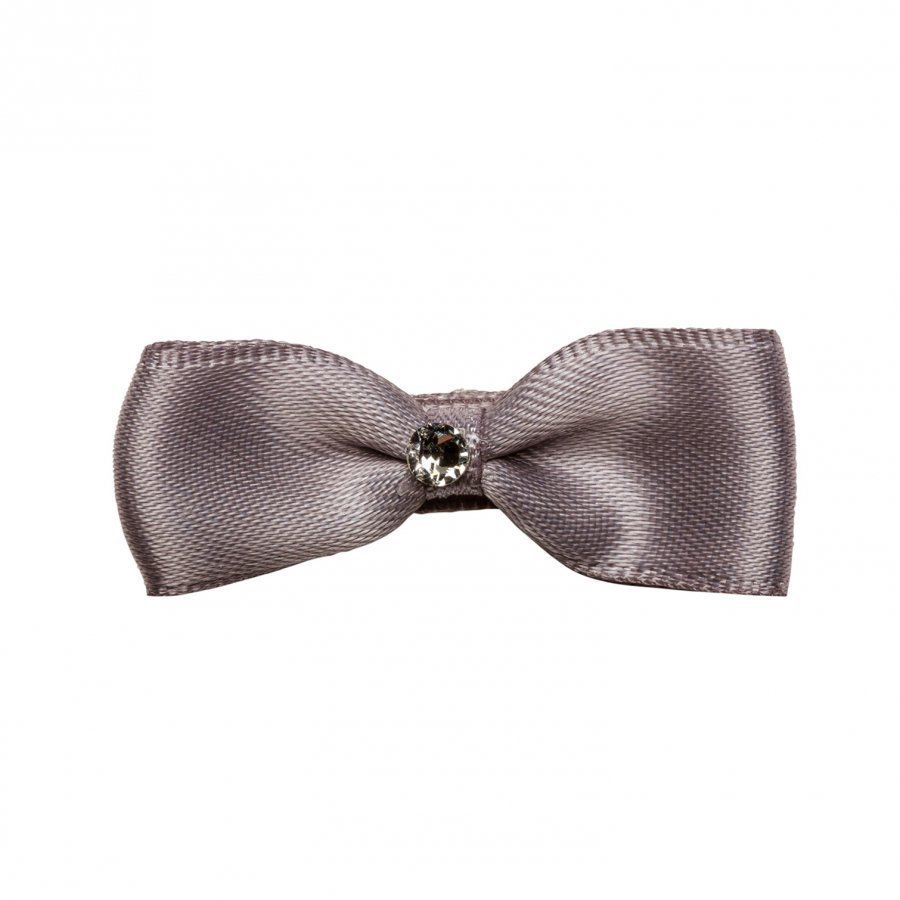 Prinsessefin Philippa Silk Bow Hair Clip Silver Pinni