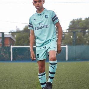 Puma Arsenal Fc 2018/19 Third Shorts Vihreä