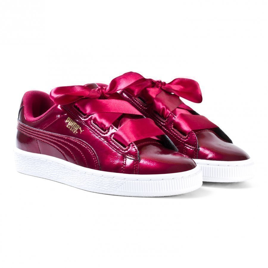 Puma Basket Heart Glam Jr Red Lenkkarit