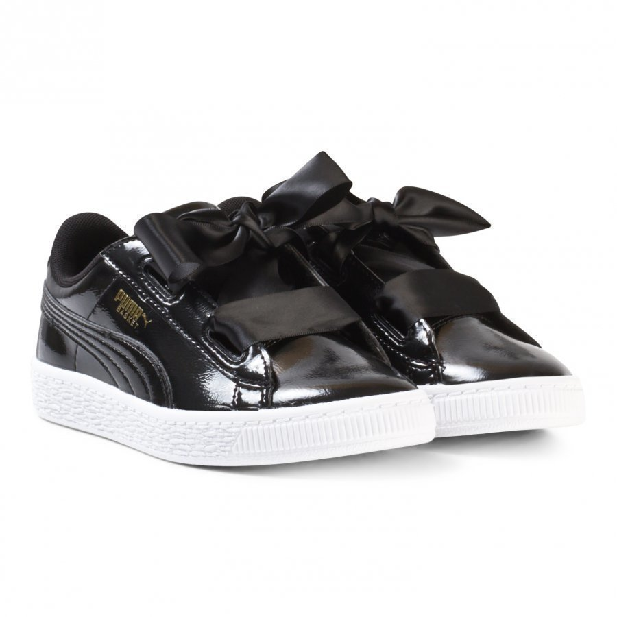 Puma Basket Heart Glam Ps Trainers Black Lenkkarit