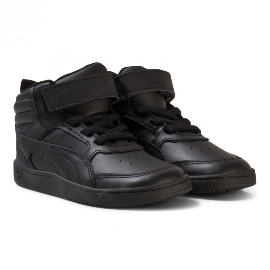 Puma Black Rebound Street V2 Infant Sneakers Lenkkarit