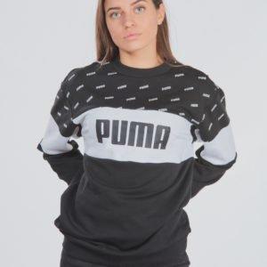 Puma Classics Graphics Crew Neule Musta