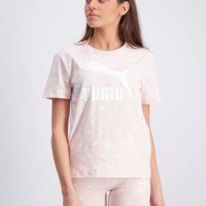 Puma Classics Graphics Tee T-Paita Vaaleanpunainen