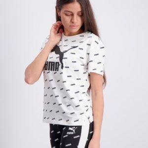 Puma Classics Graphics Tee T-Paita Valkoinen