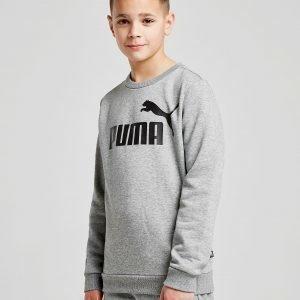 Puma Core Logo Crew Sweatshirt Harmaa