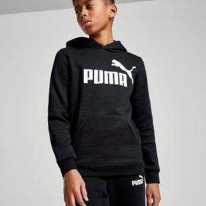 Puma Core Logo Hoodie Musta