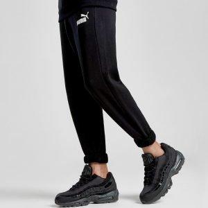 Puma Core Logo Track Pants Musta