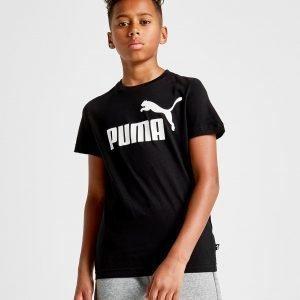Puma Essential Logo T-Paita Musta