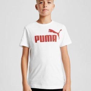 Puma Essential Logo T-Paita Valkoinen