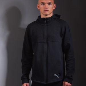 Puma Evostripe Hooded Jacket Huppari Musta