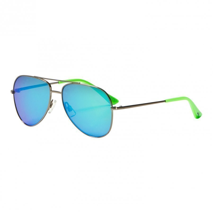 Puma Kid Metal Sunglasses Green Aurinkolasit