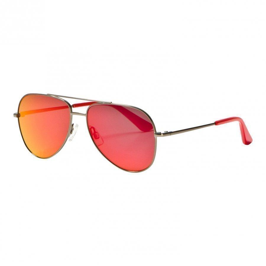 Puma Kid Metal Sunglasses Red Aurinkolasit