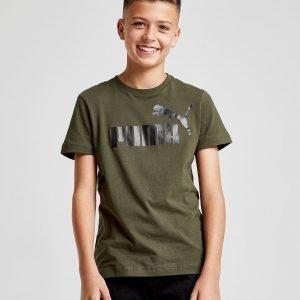 Puma Logo T-Shirt Vihreä