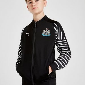 Puma Newcastle United Fc Walk Out Jacket Musta