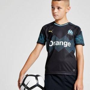 Puma Olympique Marseille 2018/19 Away Paita Musta