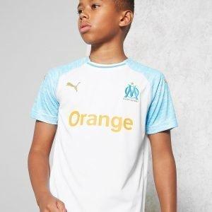Puma Olympique Marseille 2018/19 Home Paita Valkoinen