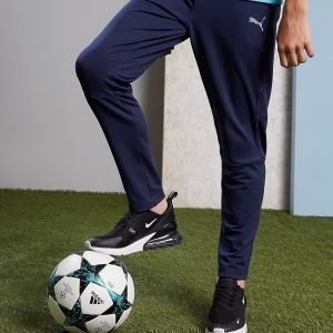 Puma Olympique Marseille Training Pants Laivastonsininen