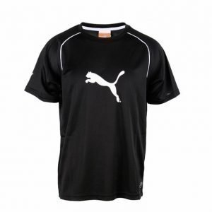 Puma Ringer Jersey Tekninen T-paita Musta / Valkoinen