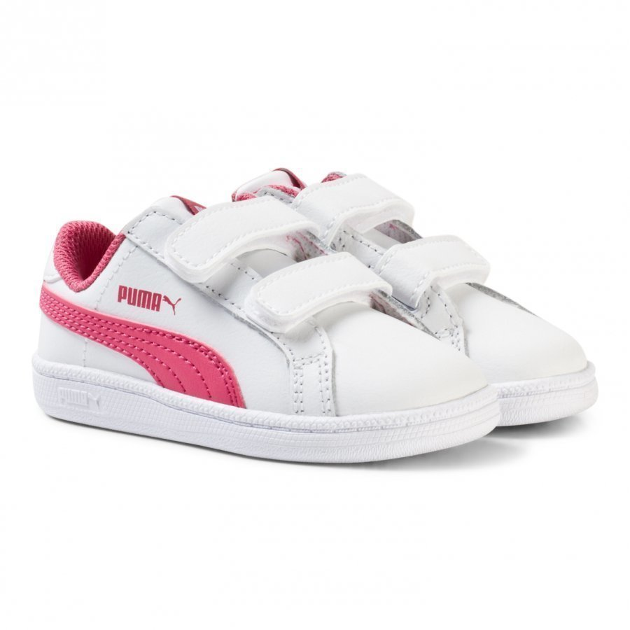 Puma Smash Fun Kids Trainers White Lenkkarit