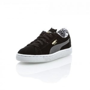 Puma Suede Batman Junior Matalavartiset Tennarit Musta / Harmaa