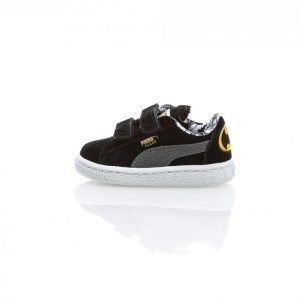 Puma Suede Batman V Toddler Matalavartiset Tennarit Musta