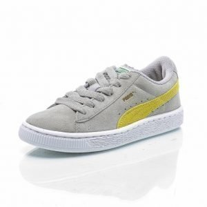 Puma Suede Jr Tennarit Harmaa