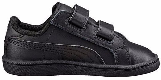 Puma Tennarit Smash Fun Kids Black/Black