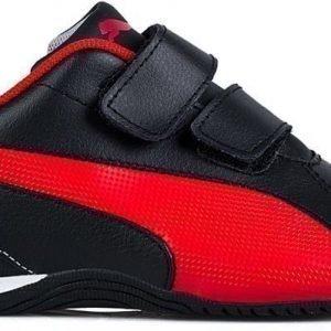 Puma Urheilutossut Drift Cat 5 L V Nahkaa Musta/punainen