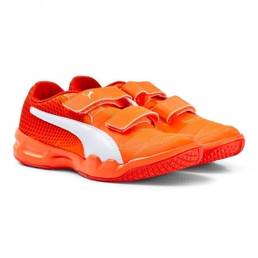 Puma Veloz Indoor Ng V Jr Orange Lenkkarit
