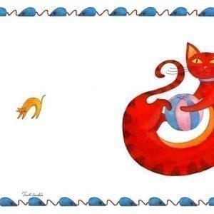 Punainen kissa