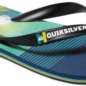 Quiksilver Flip-Flops Molokai Black/Blue/Green