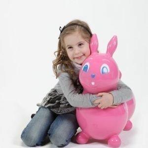 Raffy hyppypupu pinkki