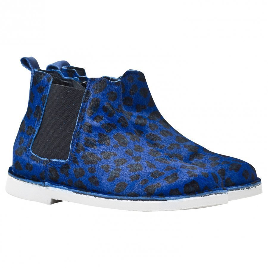 Rainbow & Snow Chelsea Pony Animal Shoes Jaguar Blue Lenkkarit