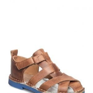Rainbow & Snow Sandal Leather