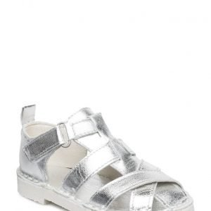 Rainbow & Snow Sandal Silver