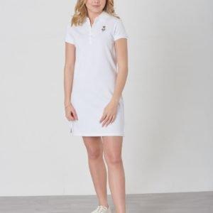 Ralph Lauren Bear Polo Dr Dresses Knit Mekko Valkoinen