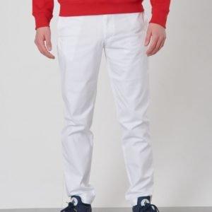 Ralph Lauren Belted Pant Bottoms Pant Housut Valkoinen