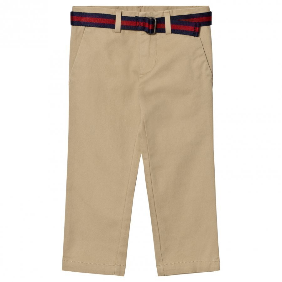 Ralph Lauren Belted Stretch Classic Chino Chinos Housut
