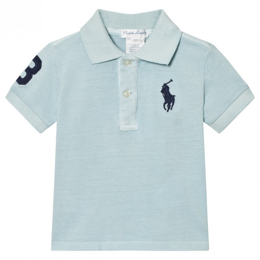 Ralph Lauren Blue Big Pony Polo Pikeepaita
